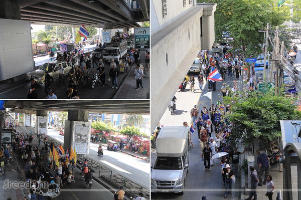 November 28, 2013 Bangkok Protest