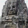 The Four-faced Towers of Angkor Thom's Bayon Temple