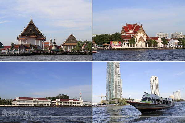 chao phraya sight seeing