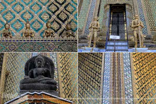 The Crafts, Arts, and Wall Carvings in the Grand Palace
