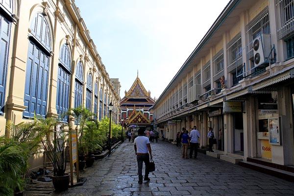 Grand Palace Tourists' Entrance
