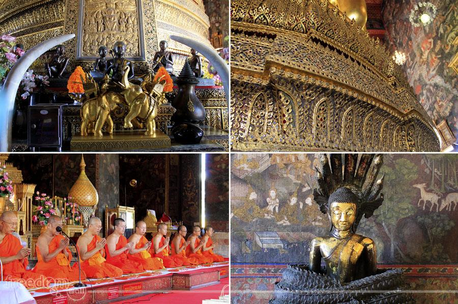 Inside Wat Suthat