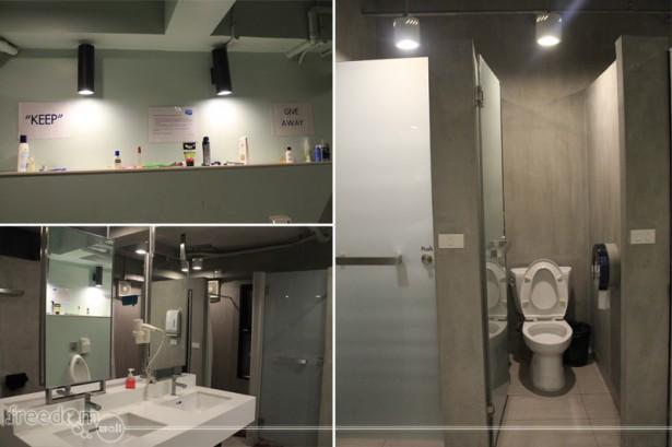 lub d siam washroom and shower area