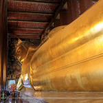 Amazed the Second Time Around in the Temple of the Reclining Buddha