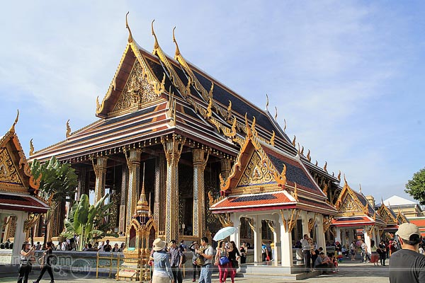 The Royal Monastery of the Emerald Buddha in the Grand Palace