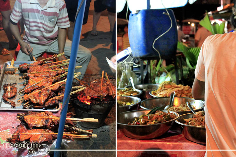 street foods in siem reap