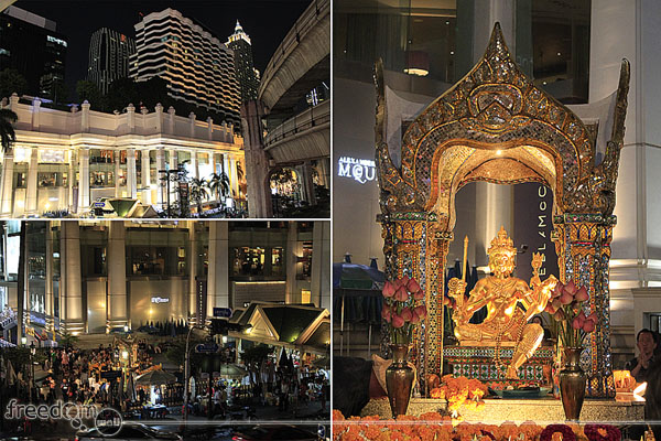 Erawan Shrine (officially named Thao Maha Brahma)