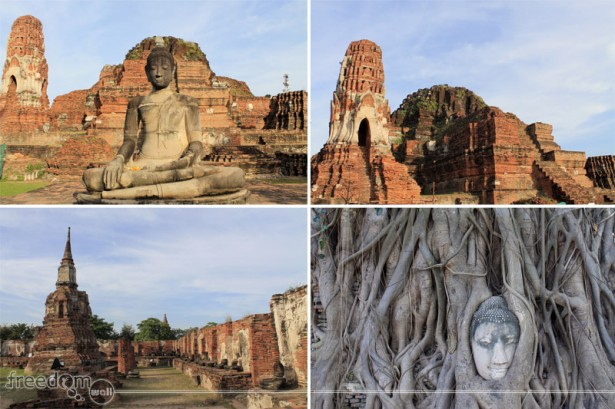 The Ruins of Wat Maha That