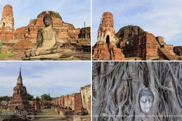 The Ruins of Wat Maha That