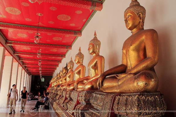 Wat Pho Buddha Images
