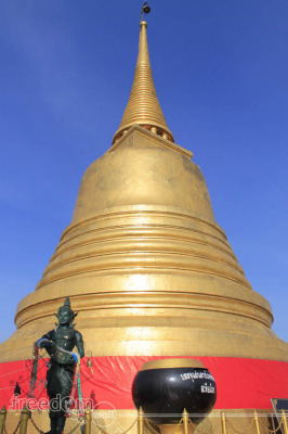 Golden Mount (Wat Saket) chedi
