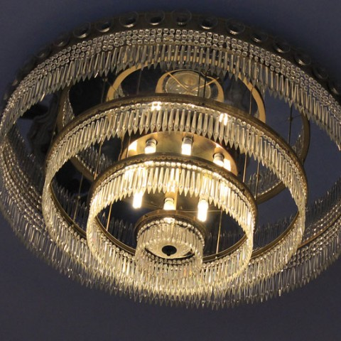 Reunification Palace chandelier