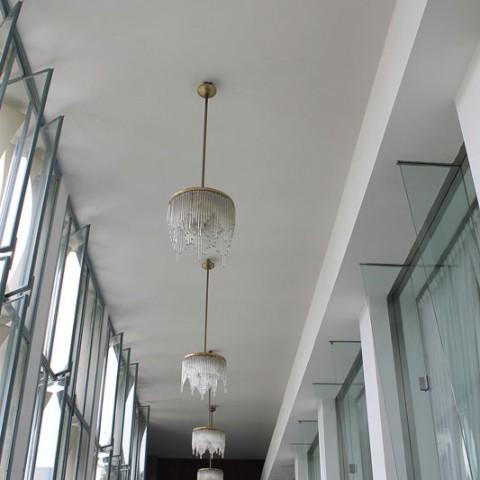 reunification palace hallway