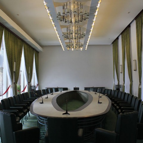 reunification palace leaders hall