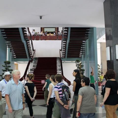 reunification palace main hall
