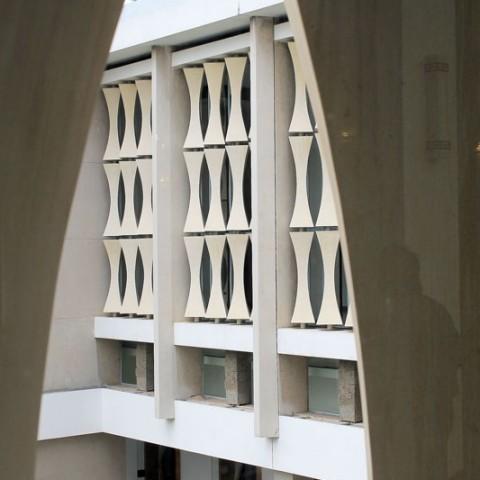 reunification palace window