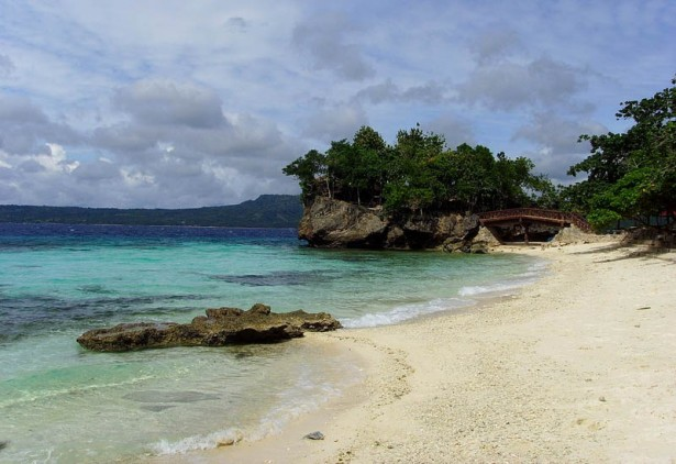 Salagdoong beach in Maria, Siquijor