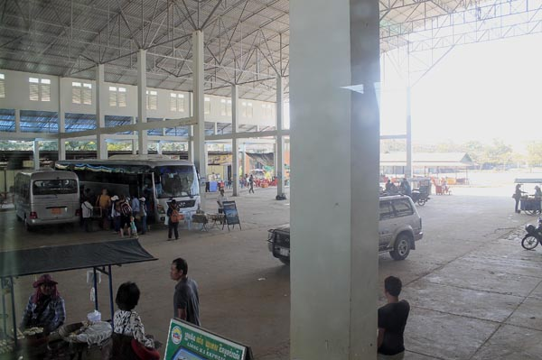 Siem Reap to Phnom Penh bus terminal