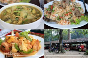 somlor kor ko and other cambodian dish