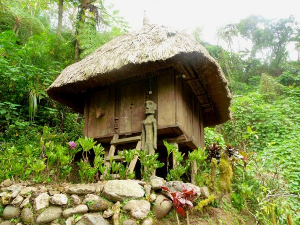 Another Traditional house from the Cordilleras sheltered in Tam-Awan