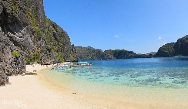 Tapiutan Beach, El Nido, Palawan