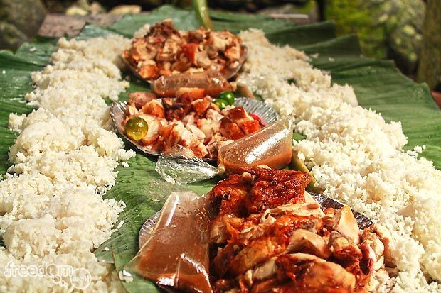 Boodle lunch at Caunayan