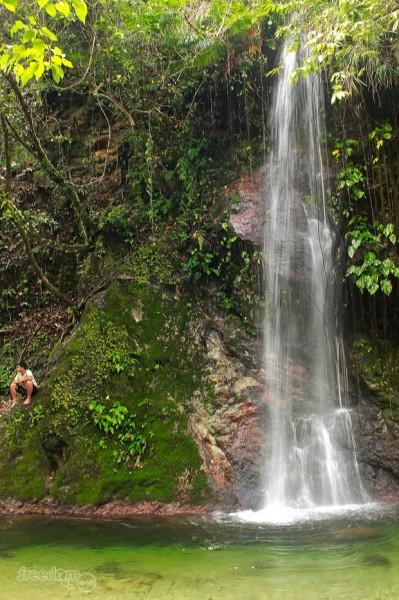 The Caunayan falls
