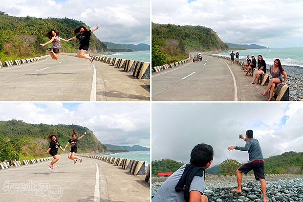 Jump shots and selfie at Amper