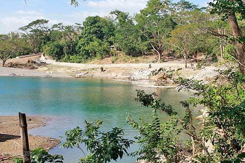 A calm portion of Peñaranda River in Minalungao
