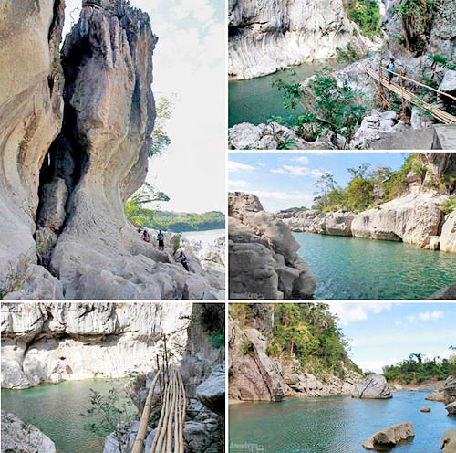 Around Peñaranda River in Minalungao National Park