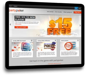 party poker banner