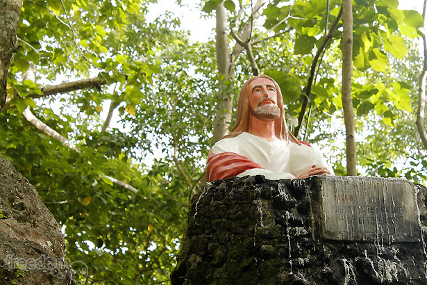 Camiguin Stations of the Cross: Jesus in the Garden of Gethsemane