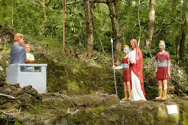 Camiguin Stations of the Cross: Jesus is condemed to death