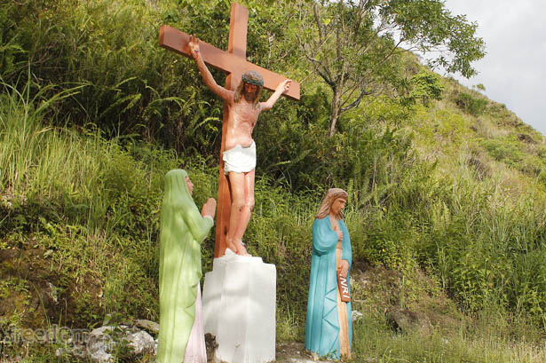 Camiguin's stations of the cross: Jesus dies on the cross