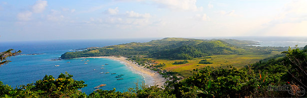 Panoramic View of Calaguas