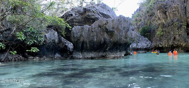 El Nido's Small Lagoon
