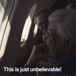 See How Two Grandmas React on Their First Flight?