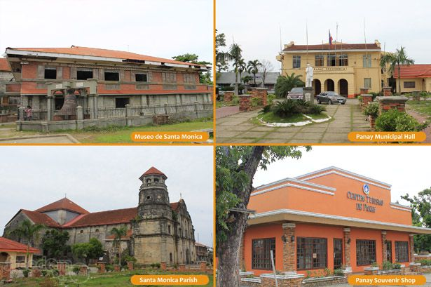 Noticeable structures in the Municipality of Panay (Pan-ay), Capiz