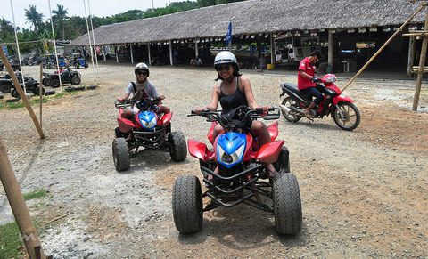 ATV ride Boracay
