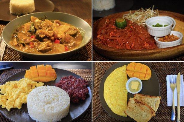 Buddha's food selections