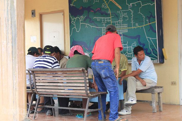 Chess, a favorite pastime at the park fronting Roxas City Hall