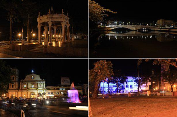 Some random night photos of Roxas City's downtown