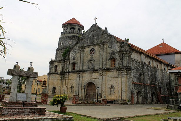 Santa Monica Parochial Church in Panay Town