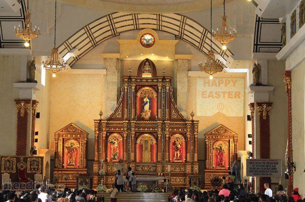The altar of the Immaculate Conception Cathedral in Roxas City