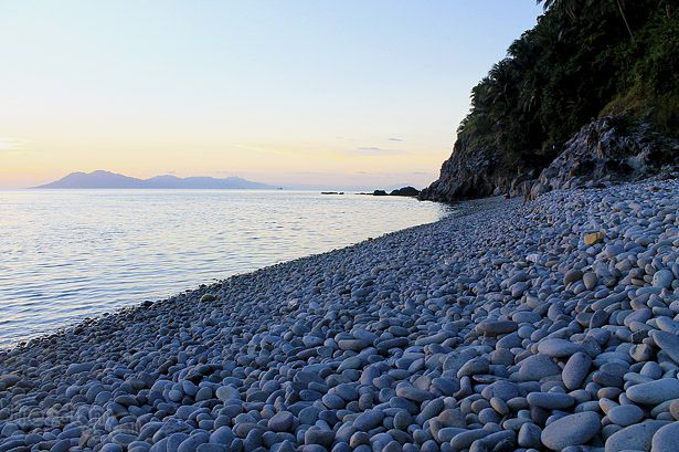 Rocks Stones And Pebbles Of Mabua Surigao City