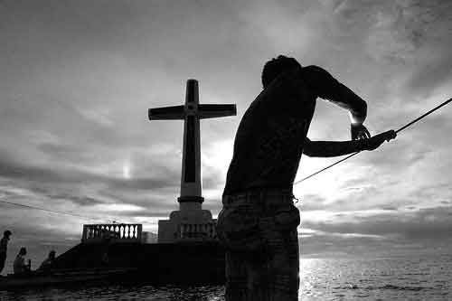 Boating to the Sunken Cemetery, Camiguin