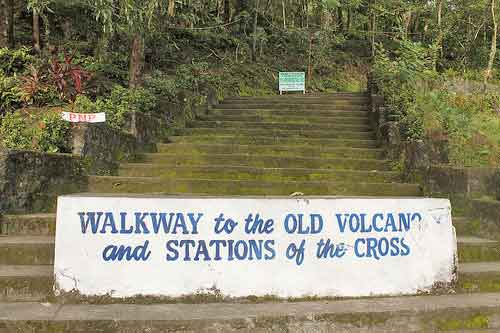 Walkway to the Old Volcano and Stations of the Cross, Camiguin