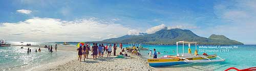 White Island, Camiguin (Panorama credits to a friend, Teddy)