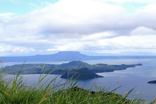 Taal Lake, A View from Tagaytay