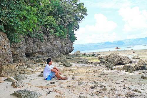 Rocky Part of Alibijaban Island